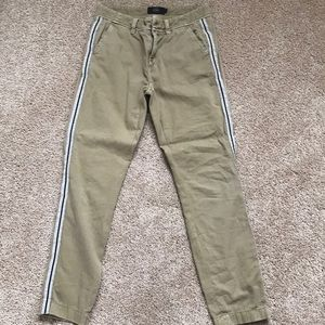 Detailed jcrew chino pants